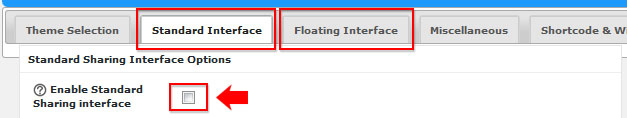 MALAT WebSpace - Optional Plugins - Super Socializer - IT