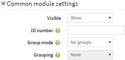 workshopsteps settings common