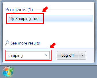 How To Create A Screenshot With The Snipping Tool - IT Knowledgebase