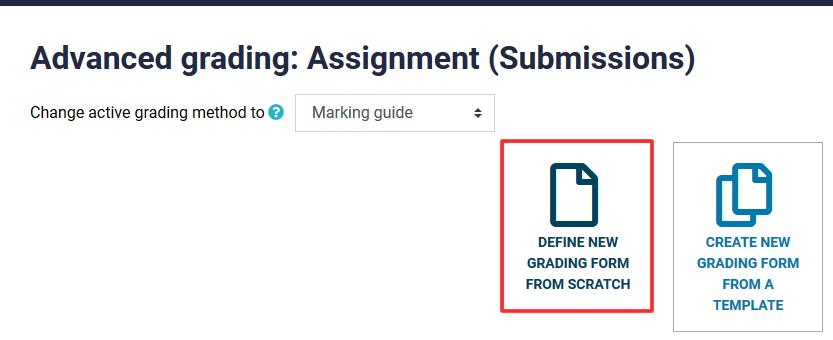 grading form