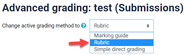 grading method