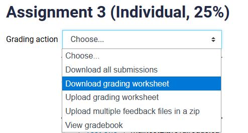 download grading worksheet