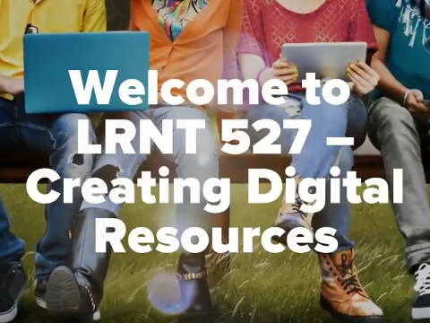 Welcome to LRNT 527