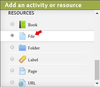 Add a Resource