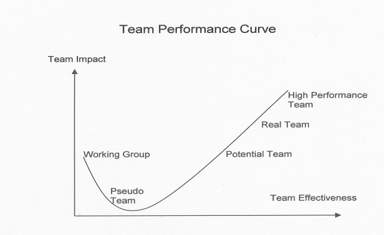 Team Performance Curve